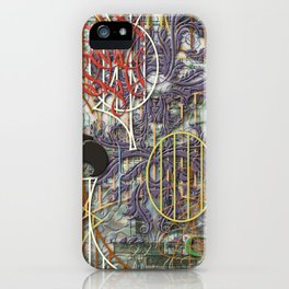 The Set Relationship Between: (A.) An Invisible Woman and (B.) The Ghost Club iPhone Case