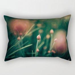 Pink Buds Rectangular Pillow
