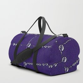 Pearls on a string Duffle Bag