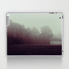 a foggy creepy morning Laptop & iPad Skin