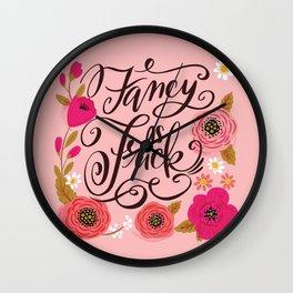 Pretty Swe*ry: Fancy as Fuck Wall Clock