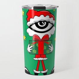 Eye Christmas II Travel Mug