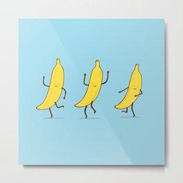 Banana shake Metal Print