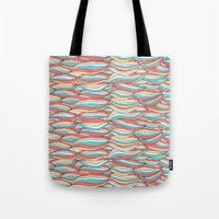 candy Tote Bags featuring Candy by Pom Graphic Design