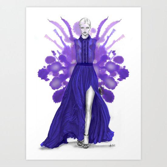 + SAAB + Art Print