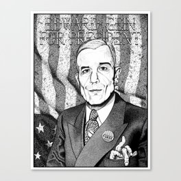 Ed Gein For President Canvas Print
