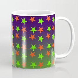 Magical Green sky Fall 2018 Halloween Colorful Starts Coffee Mug