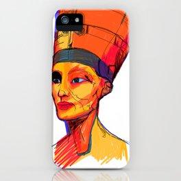 Nefertiti by Aitana Perez iPhone Case
