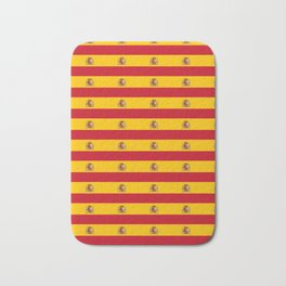 Flag of spain 2-spain,flag,flag of spain,espana, spanish,plus ultra,espanol,Castellano,Madrid,prado Bath Mat