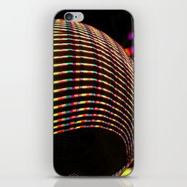 Candy coloured stripes iPhone Skin