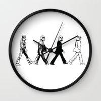 stormtrooper Wall Clocks featuring Stormtrooper by kohwasop