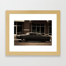 """Nothing behind me, everything ahead of me, as is ever so on the road."" -Kerouac Framed Art Print"