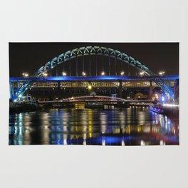 Night bright at Newcastle Rug