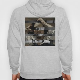 "Gustave Courbet ""The Desperate Man"" Self Portrait & James Stewart in Vertigo Hoody"
