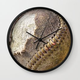 Foul Ball Wall Clock