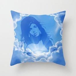 Amy/Winehouse. Throw Pillow