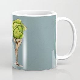 Cabbage Pin Up Coffee Mug