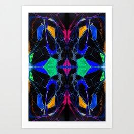 四 (Sì) Art Print