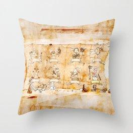 HEAD HUNTING Throw Pillow