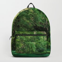 Florida Cypress Tree and Spring Backpack