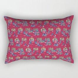 Let's Go Shopping! – Xmas Edition Rectangular Pillow