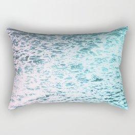 Faded Waves Rectangular Pillow