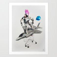 Abjectified: Skunk Works Art Print