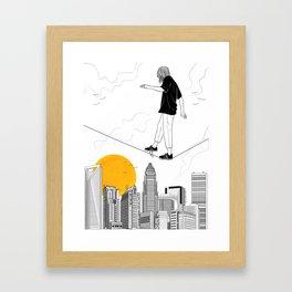 Escapist Framed Art Print