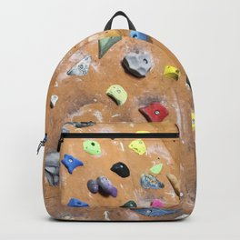 Wooden boulders climbing gym bouldering photography Backpack