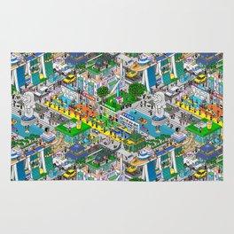 Pixels X Singapore Rug