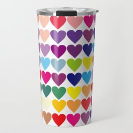 Heart love Travel Mug