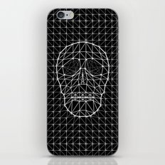 Triangle and Line Art Skull iPhone & iPod Skin