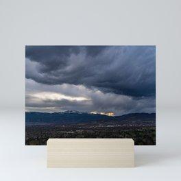 Roiling Clouds Mini Art Print