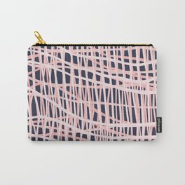 Net Bush and Navy Carry-All Pouch