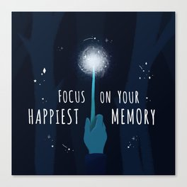 Your Happiest Memory Canvas Print