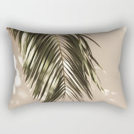 tropical palm leaves vi Rectangular Pillow