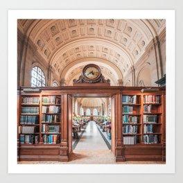 Boston Library Art Print
