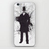 watchmen iPhone & iPod Skins featuring WATCHMEN - RORSCHACH by Zorio