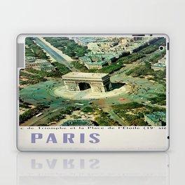 Vintage poster - Paris Laptop & iPad Skin