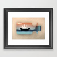 Float On Framed Art Print