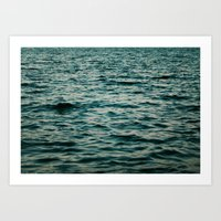 Canada // Turquoise Water Art Print