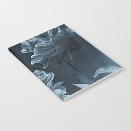 Blue Peonies Notebook