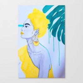 Amazone Canvas Print