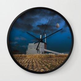 atmosphere · fabrication Wall Clock
