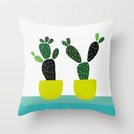 Meanwhile, in New Mexico Throw Pillow