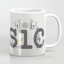 Floral music Coffee Mug