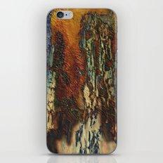 Woodsie Woo by Sherri Of Palm Springs-abstract iPhone & iPod Skin