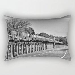Gasoline Alley, Isle of Man Rectangular Pillow