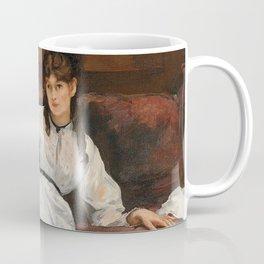 The Rest, portrait of Berthe Morisot by Edouard Manet Coffee Mug