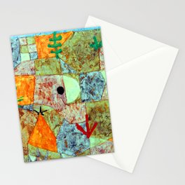 Paul Klee Southern Gardens Stationery Cards